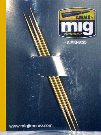 真鍮製爪楊枝 (3本入り)つまようじ(アモアクセサリーNo.A.MIG-8026)商品画像