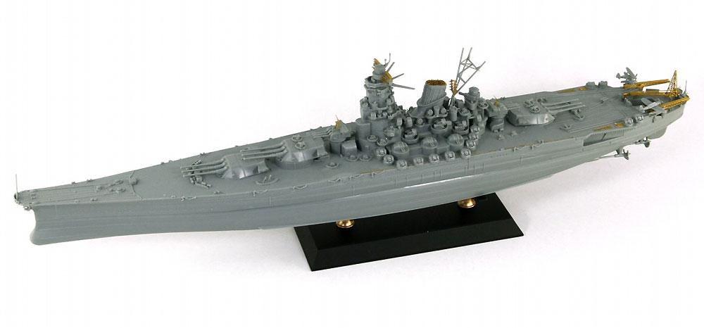 日本海軍 戦艦 武蔵 レイテ沖海戦時 エッチングパーツ付プラモデル(ピットロード1/700 スカイウェーブ W シリーズNo.W201E)商品画像_2