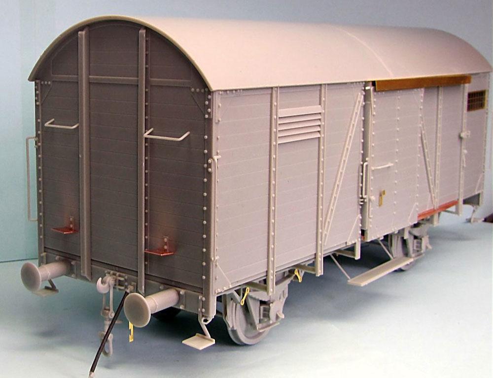 ドイツ 有蓋貨車 Gr 15t アーチ型プラモデル(サンダーモデルプラスチックモデルキットNo.35902)商品画像_2