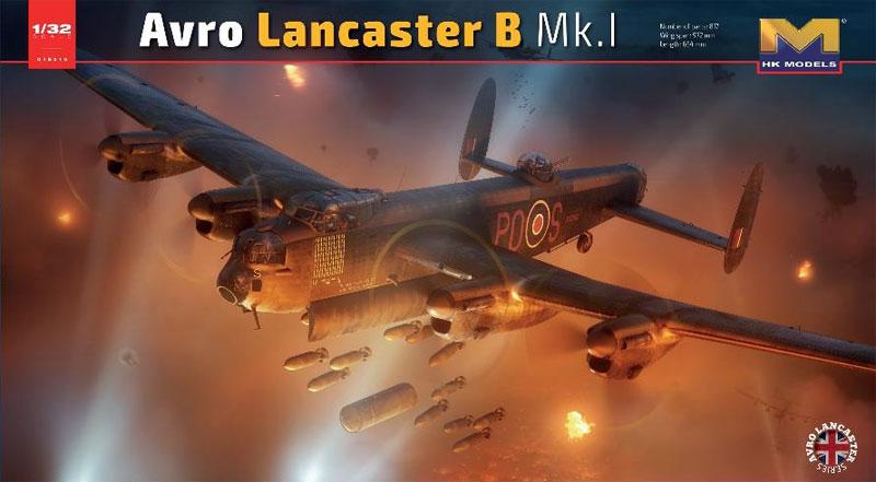 アブロ ランカスター B MK.1プラモデル(HKモデル1/32 エアクラフトNo.01E010)商品画像