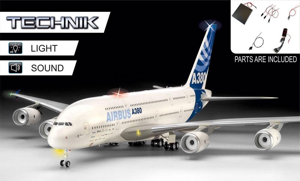 エアバス A380-800プラモデル(レベルレベルテクニックNo.00453)商品画像_1