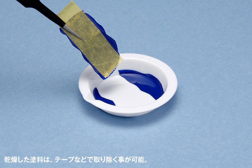白い塗料皿 ベーシックタイプ (8枚入)皿(ウェーブホビーツールシリーズNo.OM-185)商品画像_3
