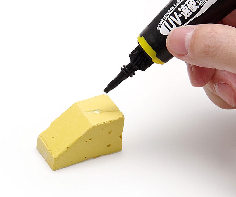 瞬間 UV-速硬 中粘度瞬間接着剤(ウェーブ造型資材No.OM-131)商品画像_2