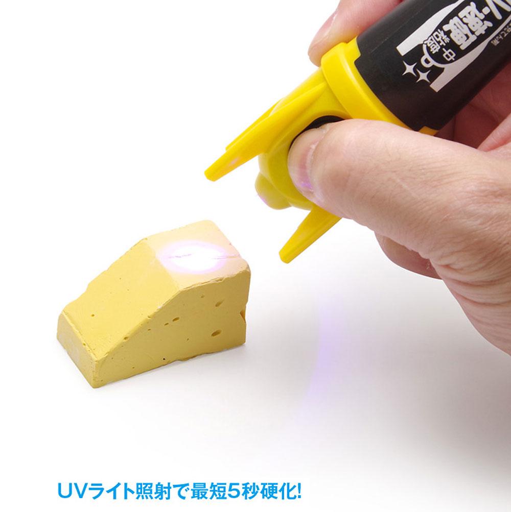 瞬間 UV-速硬 中粘度瞬間接着剤(ウェーブ造型資材No.OM-131)商品画像_3
