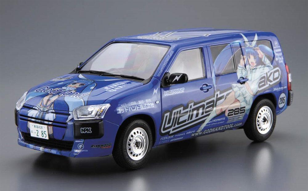 トヨタ NCP160V プロボックス '14 究極 ニパ子ちゃんプラモデル(アオシマ1/24 ザ・モデルカーNo.SP4905083056998)商品画像_2