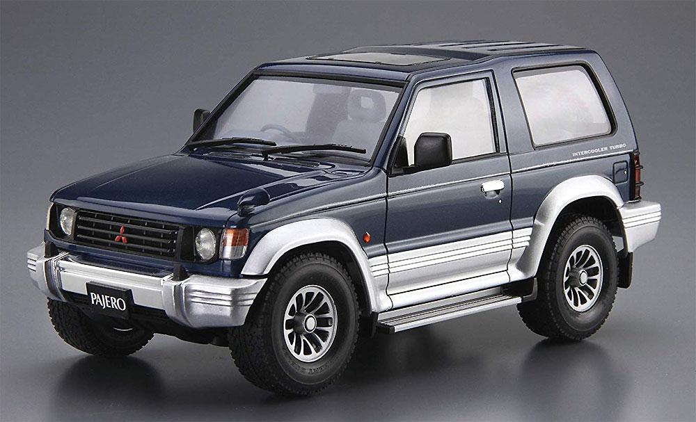 ミツビシ V24WG パジェロ メタルトップワイド XR-2 '91プラモデル(アオシマ1/24 ザ・モデルカーNo.103)商品画像_2