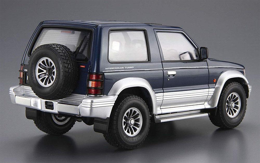 ミツビシ V24WG パジェロ メタルトップワイド XR-2 '91プラモデル(アオシマ1/24 ザ・モデルカーNo.103)商品画像_3
