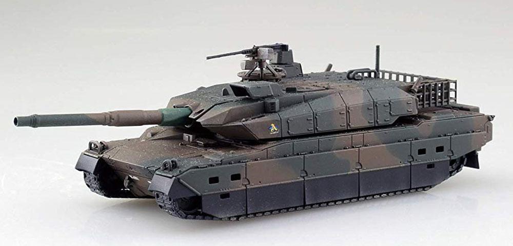 陸上自衛隊 10式戦車プラモデル(アオシマ1/72 ミリタリーモデルキットシリーズNo.014)商品画像_3