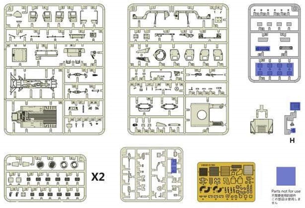 M1114 ハンヴィー w/M153 クロウ 2 システムプラモデル(ティーモデル1/72 ミリタリー プラモデルNo.TM7204)商品画像_3