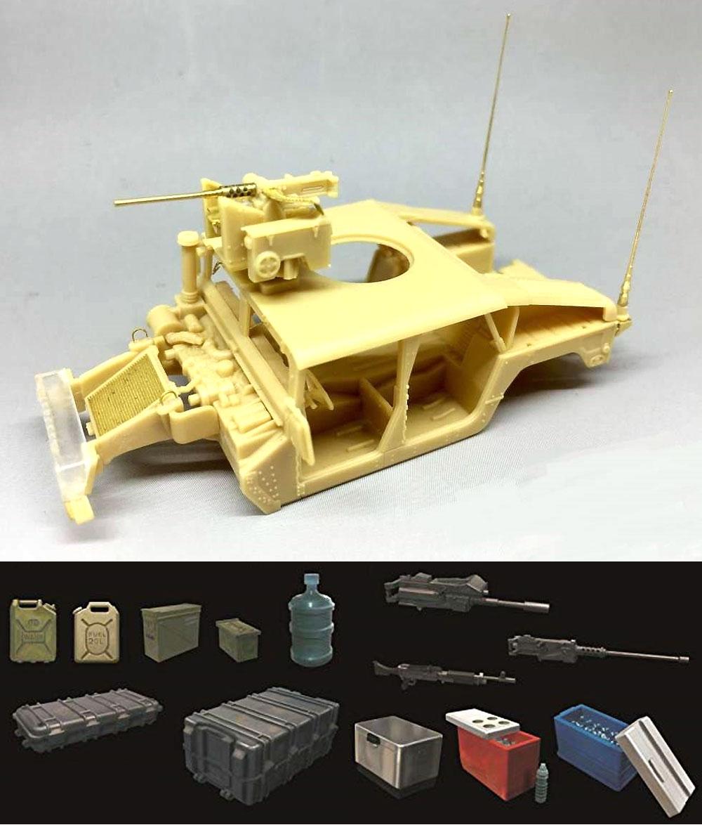 M1114 ハンヴィー w/M153 クロウ 2 システム ゴールデンオークリーフセットプラモデル(ティーモデル1/72 ミリタリー プラモデルNo.TM7204-G)商品画像_3