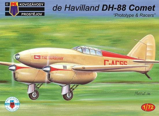 デハビラント D.H.88 コメット プロトタイプ・レース機プラモデル(KPモデル1/72 エアクラフト プラモデルNo.KPM0104)商品画像