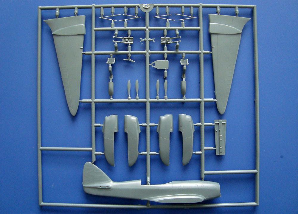 デハビラント D.H.88 コメット プロトタイプ・レース機プラモデル(KPモデル1/72 エアクラフト プラモデルNo.KPM0104)商品画像_4