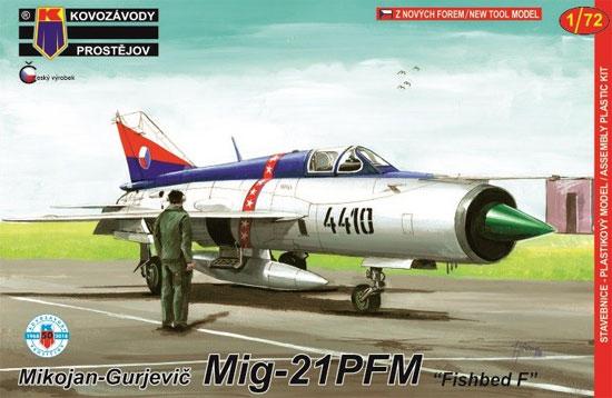 MiG-21PFM フィッシュベッド Fプラモデル(KPモデル1/72 エアクラフト プラモデルNo.KPM0122)商品画像