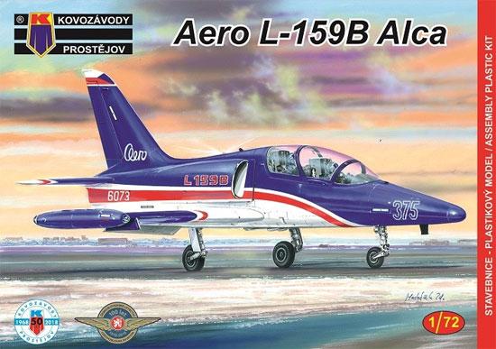 アエロ L-159B ALCAプラモデル(KPモデル1/72 エアクラフト プラモデルNo.KPM0113)商品画像