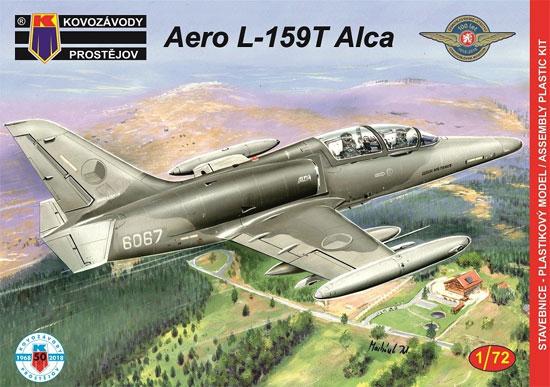 アエロ L-159T ALCAプラモデル(KPモデル1/72 エアクラフト プラモデルNo.KPM0114)商品画像