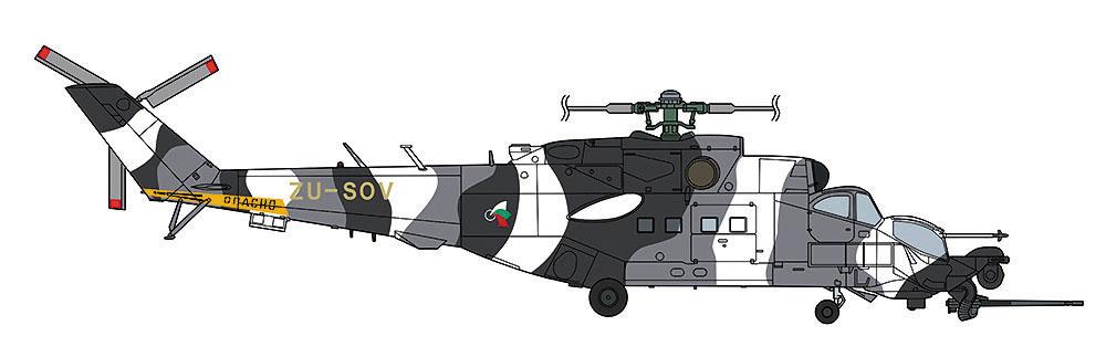 Mi-24/35 Mk.3 スーパーハインド グレーカムフラージュプラモデル(ハセガワ1/72 飛行機 限定生産No.02297)商品画像_2