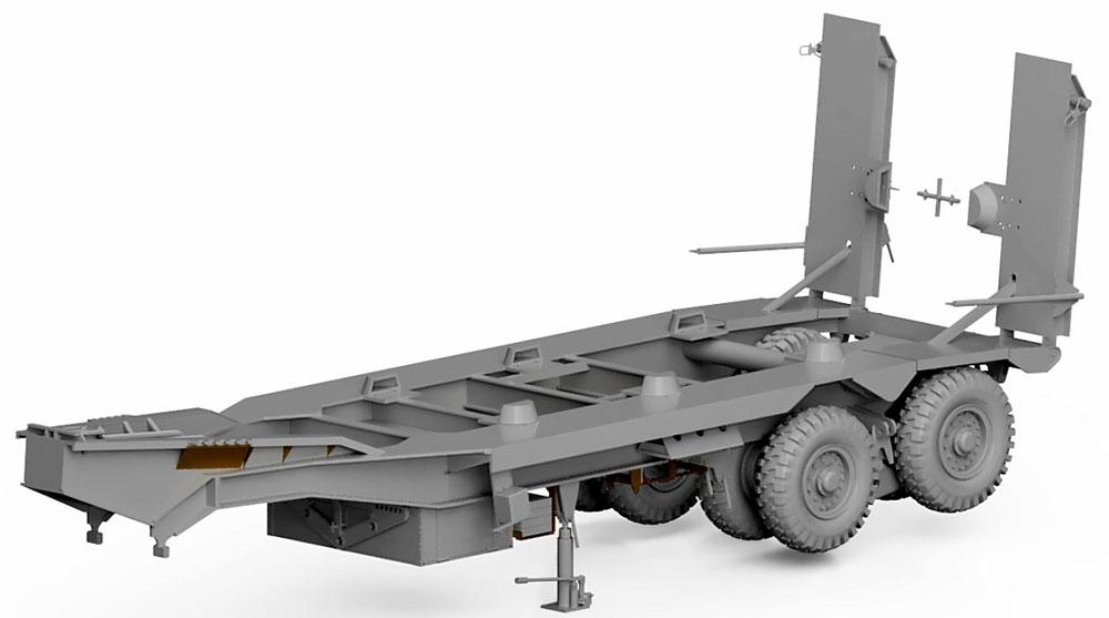 イギリス スキャメル パイオニア TRCU30 30t トレーラー グースネックプラモデル(サンダーモデルプラスチックモデルキットNo.35208)商品画像_2