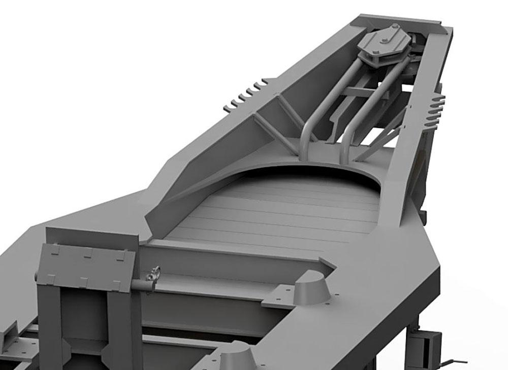 イギリス スキャメル パイオニア TRCU30 30t トレーラー グースネックプラモデル(サンダーモデルプラスチックモデルキットNo.35208)商品画像_4