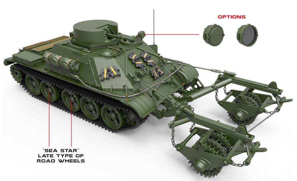 BMR-1 初期型 KMT-5M 地雷除去車プラモデル(ミニアート1/35 ミリタリーミニチュアNo.37034)商品画像_2