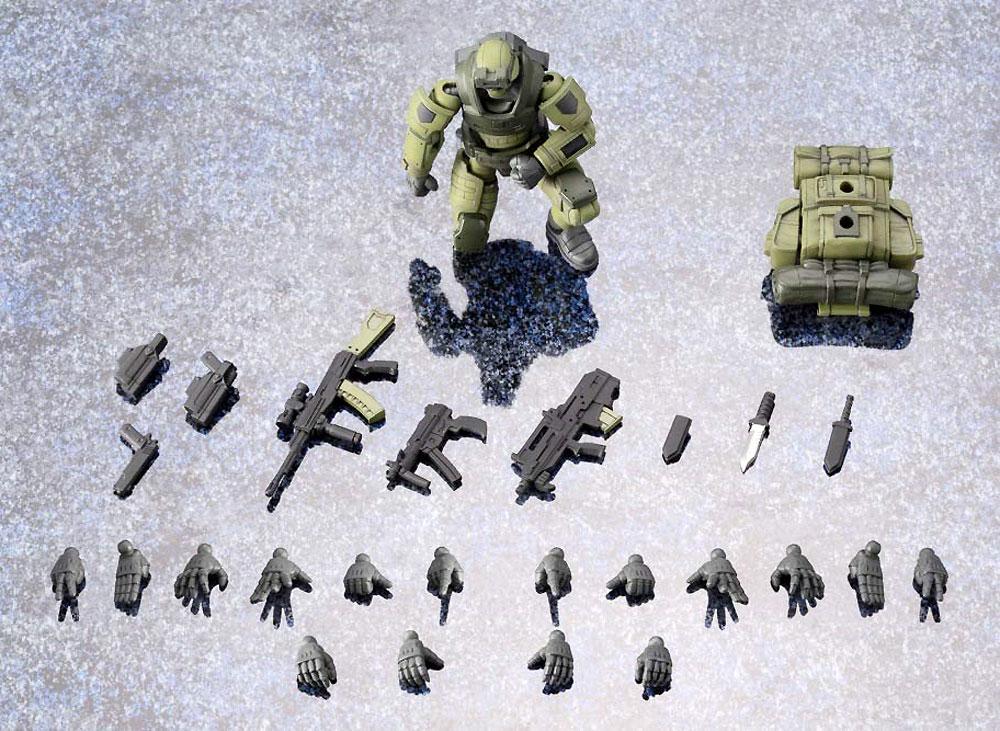 アーリーガバナー Vol.1 密林戦仕様プラモデル(コトブキヤヘキサギアNo.HG041)商品画像_1