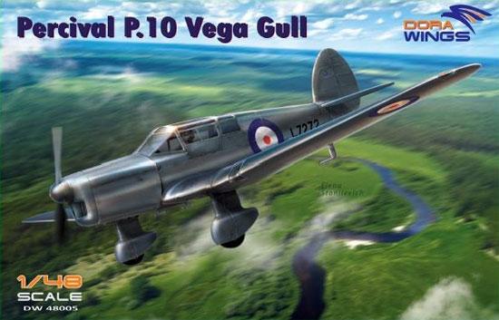 パーシヴァル P.10 ヴェガ ガルプラモデル(ドラ ウイングス1/48 エアクラフト プラモデルNo.DW48005)商品画像