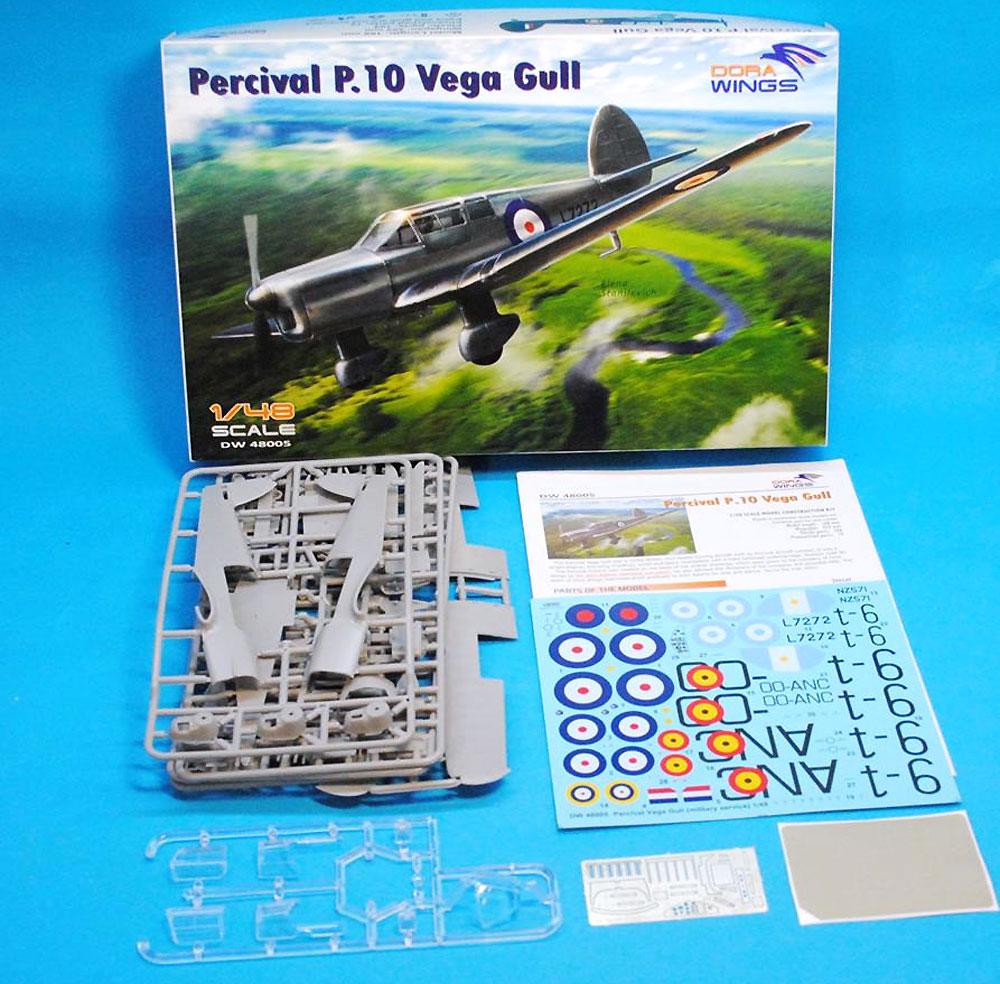 パーシヴァル P.10 ヴェガ ガルプラモデル(ドラ ウイングス1/48 エアクラフト プラモデルNo.DW48005)商品画像_1