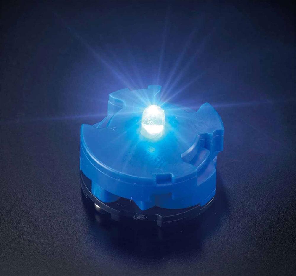 LEDユニット ブルーLED(バンダイ発光ユニットNo.2449537)商品画像_1