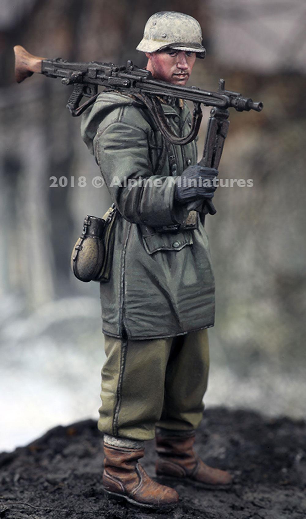 WW2 ドイツ 武装親衛隊 MG42 ガンナー ハリコフレジン(アルパイン1/35 フィギュアNo.AM35256)商品画像_2