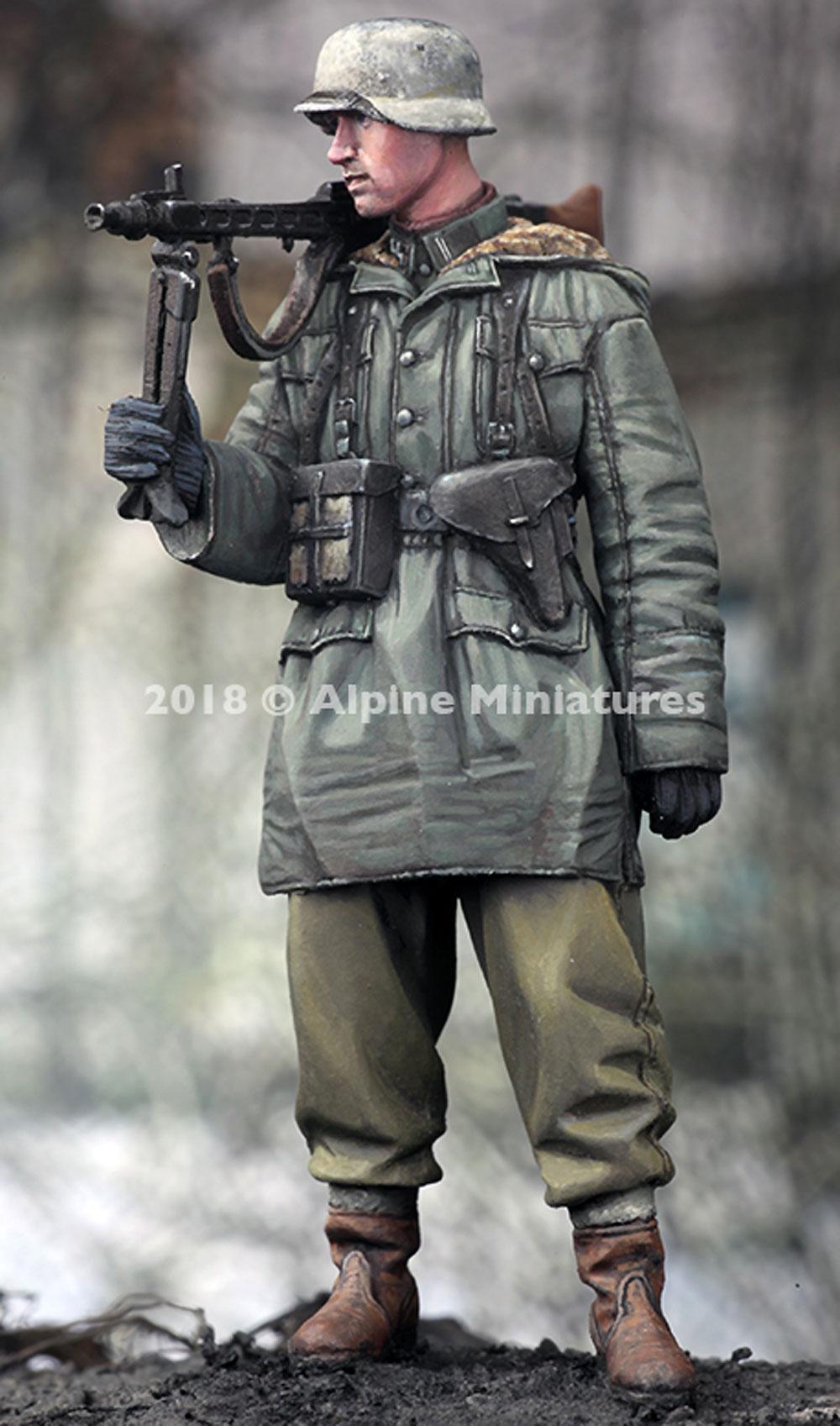WW2 ドイツ 武装親衛隊 MG42 ガンナー ハリコフレジン(アルパイン1/35 フィギュアNo.AM35256)商品画像_3