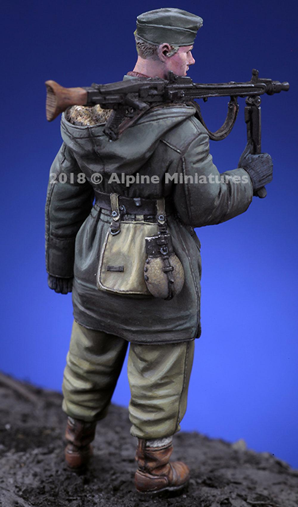 WW2 ドイツ 武装親衛隊 MG42 ガンナー ハリコフレジン(アルパイン1/35 フィギュアNo.AM35256)商品画像_4