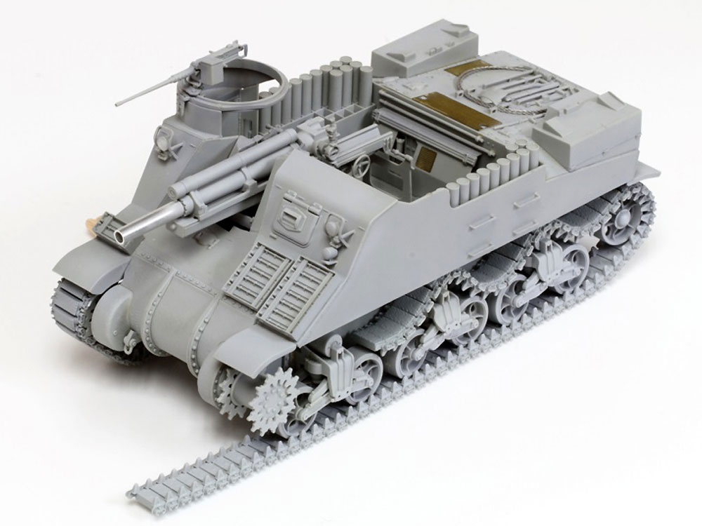 アメリカ M7 プリースト 初期生産型 w/マジックトラックプラモデル(ドラゴン1/35 '39-'45 SeriesNo.6817)商品画像_3