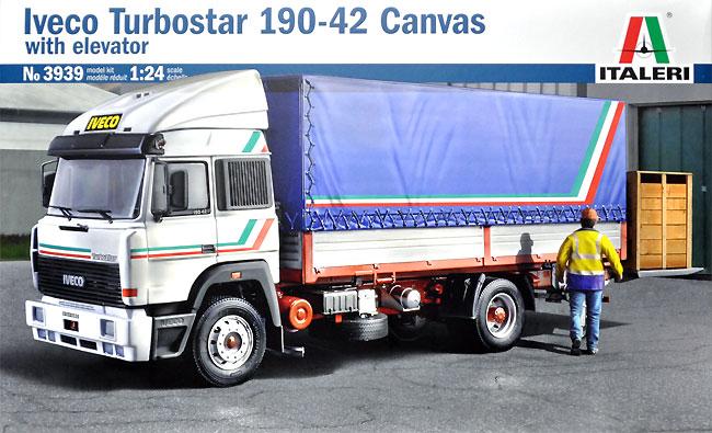 イヴェコ ターボスター 190-42 キャンバストラックプラモデル(イタレリ1/24 トラックシリーズNo.3939)商品画像