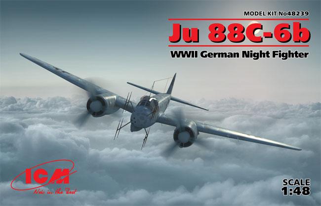 ユンカース Ju88C-6b 夜間戦闘機プラモデル(ICM1/48 エアクラフト プラモデルNo.48239)商品画像