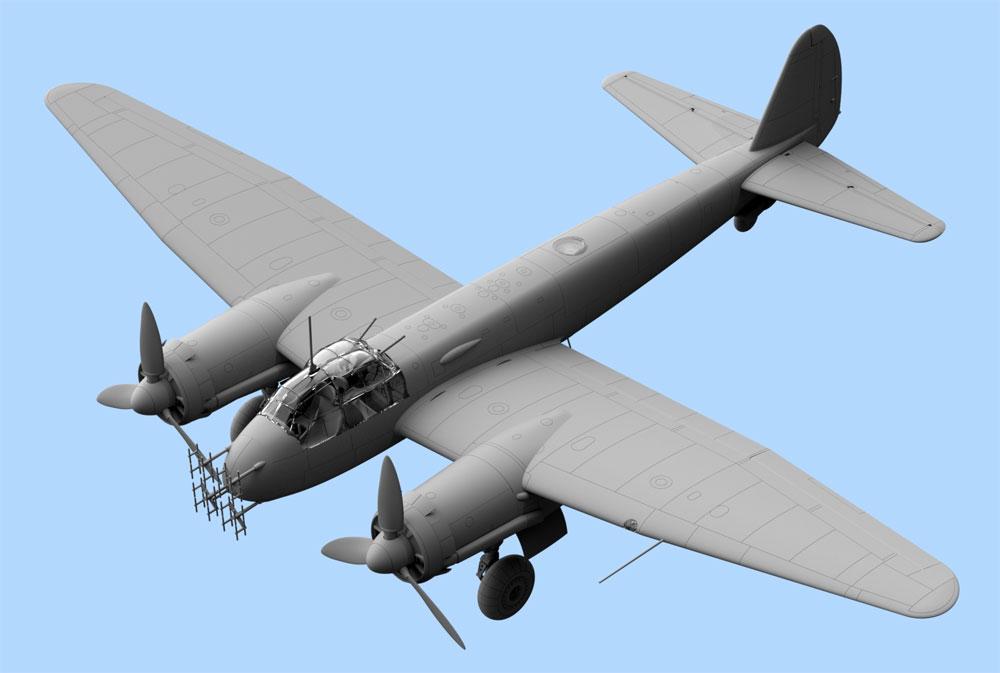 ユンカース Ju88C-6b 夜間戦闘機プラモデル(ICM1/48 エアクラフト プラモデルNo.48239)商品画像_2