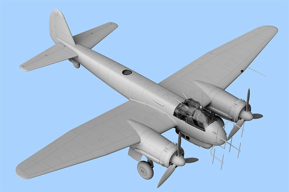 ユンカース Ju88C-6b 夜間戦闘機プラモデル(ICM1/48 エアクラフト プラモデルNo.48239)商品画像_4