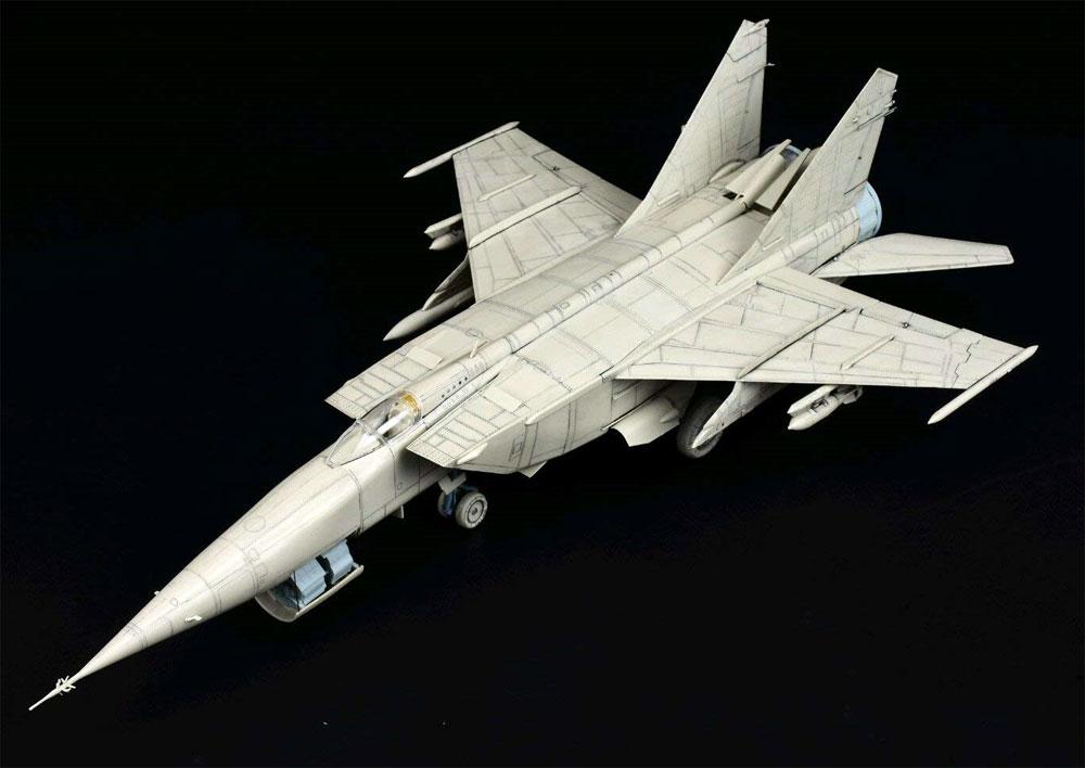 MiG-25 RB/RBT フォックスバットプラモデル(キティホーク1/48 ミリタリーエアクラフト プラモデルNo.KH80113)商品画像_4
