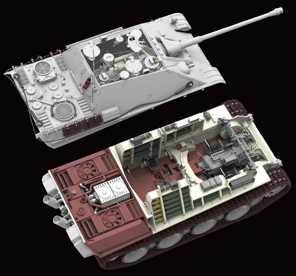 ドイツ 重駆逐戦車 Sd.Kfz.173 ヤークトパンター G2型 フルインテリアプラモデル(ライ フィールド モデル1/35 AFVNo.RM-5022)商品画像_4
