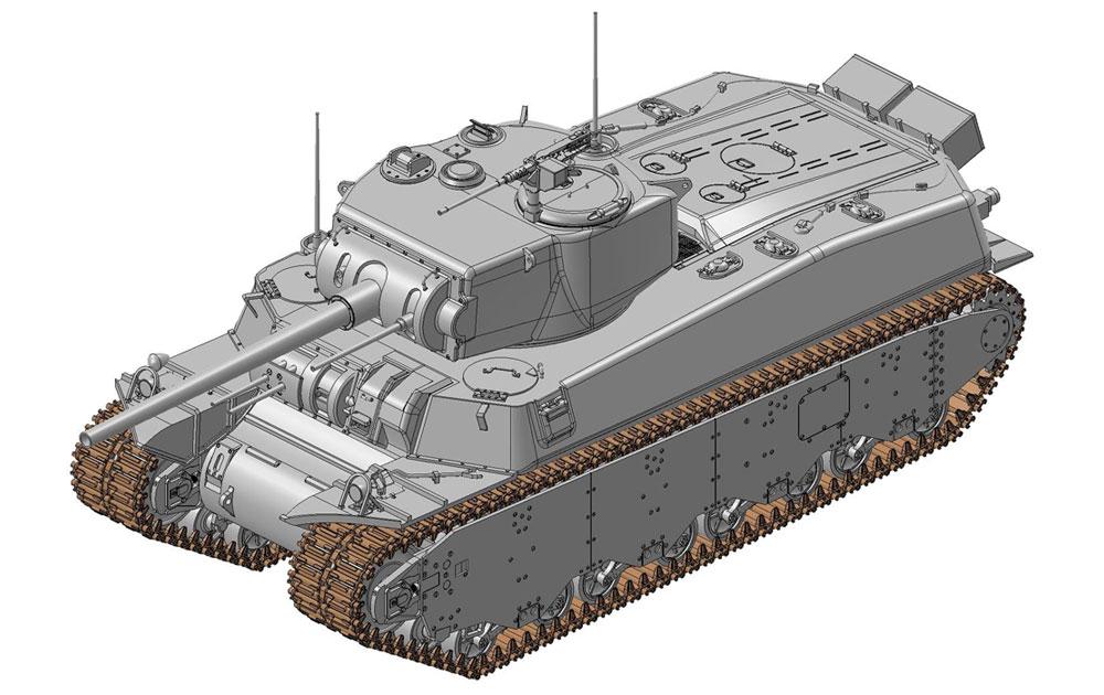 アメリカ陸軍 試作重戦車 T1E1 3 in 1プラモデル(ドラゴン1/35 BLACK LABELNo.6936)商品画像_2