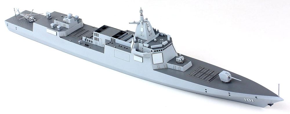 中国海軍 055型 ミサイル駆逐艦プラモデル(ドリームモデル1/700 艦船モデルNo.DM70012)商品画像_3