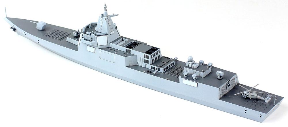 中国海軍 055型 ミサイル駆逐艦プラモデル(ドリームモデル1/700 艦船モデルNo.DM70012)商品画像_4