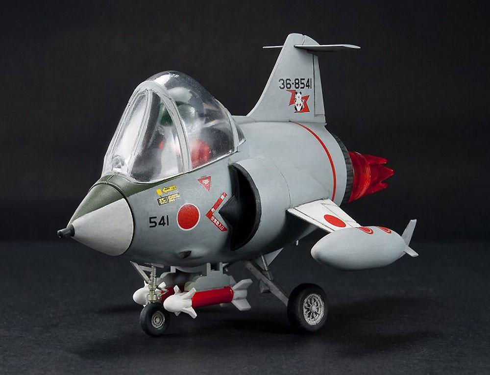航空自衛隊 F-104J 栄光プラモデル(AFV CLUBディフォルメ飛行機 QシリーズNo.AFQS005)商品画像_2