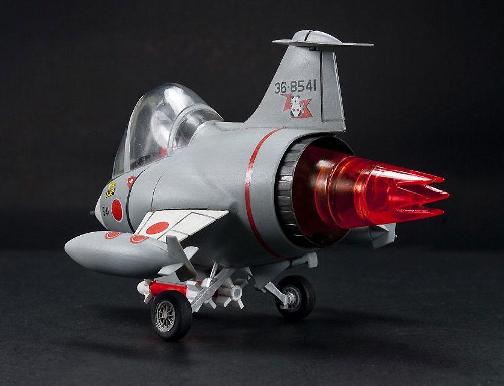 航空自衛隊 F-104J 栄光プラモデル(AFV CLUBディフォルメ飛行機 QシリーズNo.AFQS005)商品画像_4