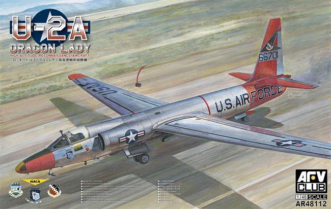 ロッキード U-2A 高高度戦術偵察機 ドラゴンレディプラモデル(AFV CLUB1/48 エアクラフト プラモデルNo.AR48112)商品画像