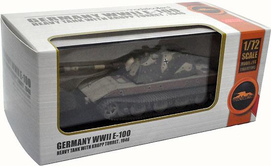 ドイツ E-100 重戦車 クルップ砲塔 1946年完成品(モデルコレクト1/72 AFV 完成品モデルNo.MODAS72124)商品画像