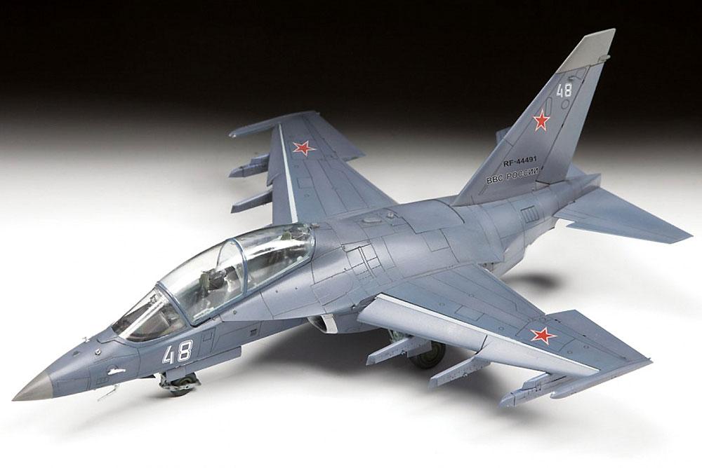 Yak-130 ロシア軽攻撃機プラモデル(ズベズダ1/48 ミリタリーエアクラフト プラモデルNo.4821)商品画像_2