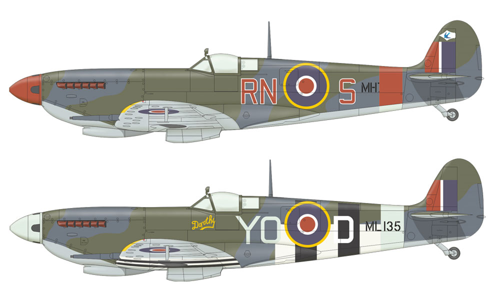 スピットファイア LF Mk.9cプラモデル(エデュアルド1/48 ウィークエンド エディションNo.74151)商品画像_2