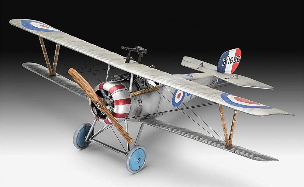 ニューポール 17プラモデル(レベル1/48 飛行機モデルNo.03885)商品画像_1