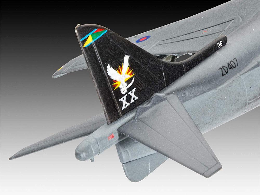Bae ハリアー GR.7プラモデル(レベル1/144 飛行機No.03887)商品画像_3