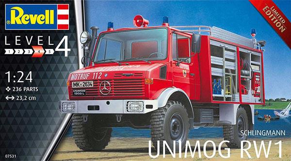 シュリングマン ウニモグ RW1プラモデル(レベルカーモデルNo.07531)商品画像