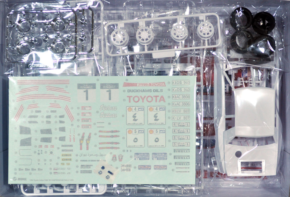 トヨタ セリカ TA64 '85 ハスペンゴウラリー仕様プラモデル(BEEMAX1/24 カーモデルNo.022)商品画像_1